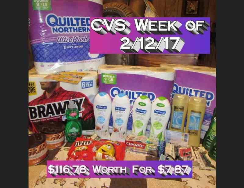 CVS Coupon Haul for the Week of 2/12/17! Great Haul for only $7.87 Out of Pocket!