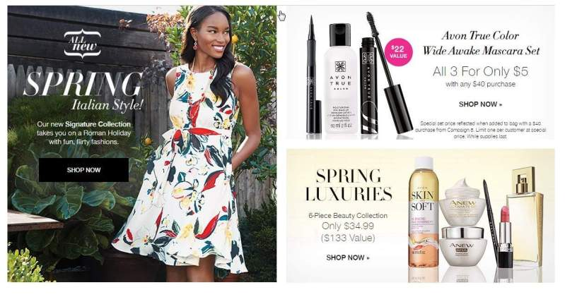 AVON has some new Spring Deals Going!