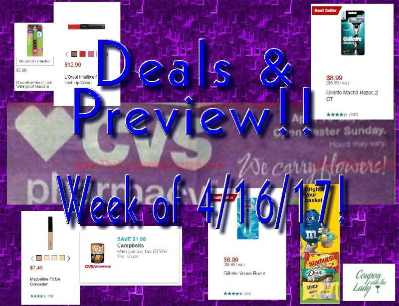 CVS Ad Preview Deal Breakdown for Easter Week!! 4/16/17 to 4/23/17