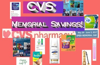 CVS 5-28-17 Memorial Day Deals