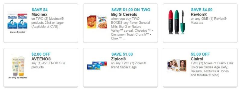 New Great Coupons Available to Print!