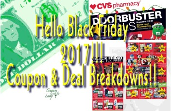 CVS 11-23-17 Black Friday Deals!