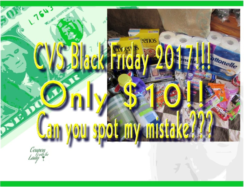 CVS Black Friday Haul 2017!! Only $10 for $110 Worth of Products!