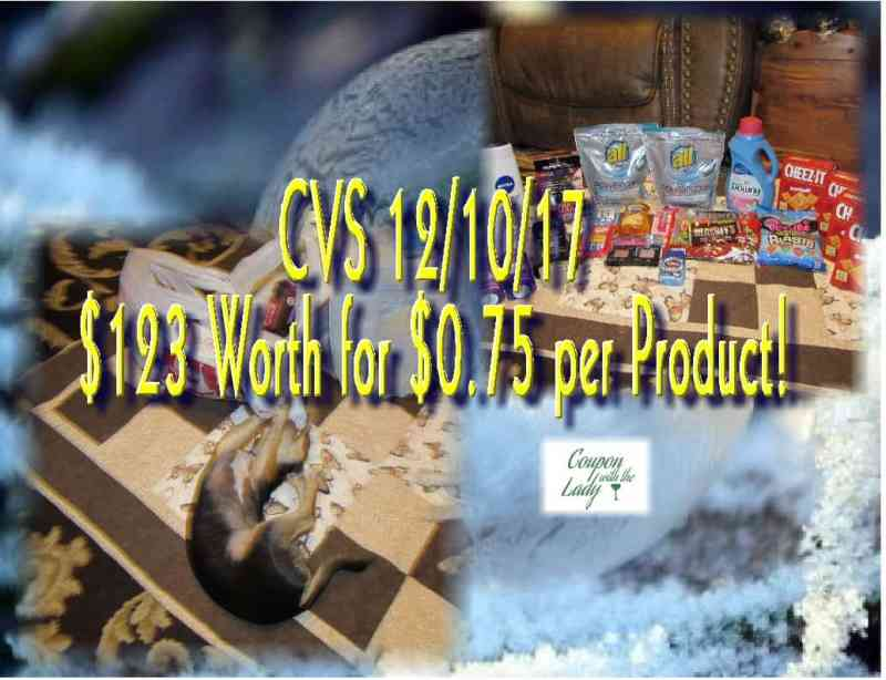 CVS Coupon Haul for the Week of 12/10/17 Including a FABULOUS FREEBIE!!