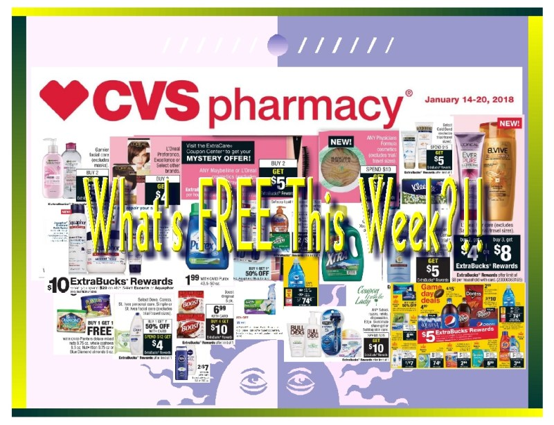 CVS 1/14/18 Deal Breakdowns! What's Free This Week??