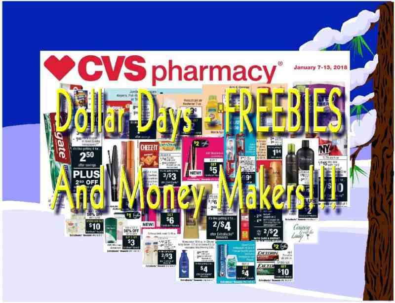 CVS the Week of 1/7/18 Dollar Days, Freebies and Money Makers Deal Breakdowns!!