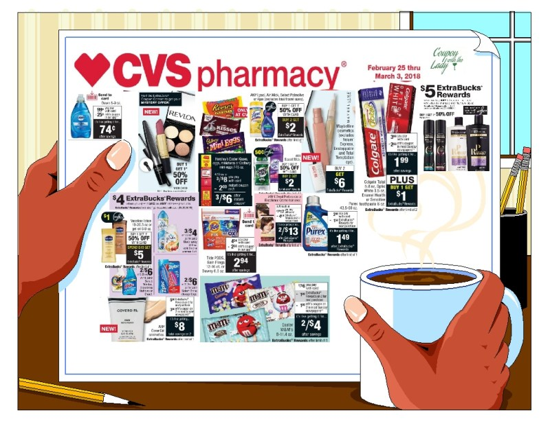 CVS Deal Breakdowns to Help You Plan a Fabulous Haul for the Week of 2/25/18!!