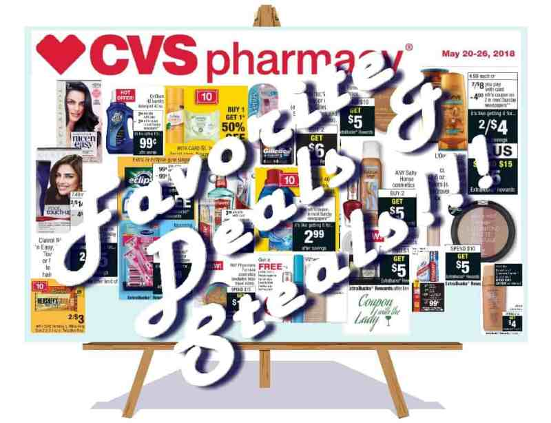 CVS 5/20/18! Fabulous Deals and Steals Breakdowns to Help You Plan Your Haul!!!
