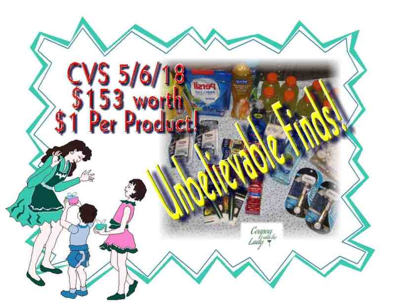 CVS Coupon Haul 5/6/18! $153 Worth for Only $1 Per Product!