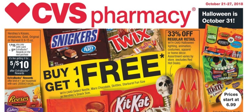 CVS Couponing Week of 10/21/18: My Top 12 Deals!!