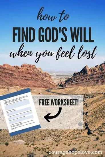 find god's plan