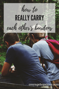 carry burdens