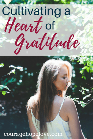 Cultivating a Heart of Gratitude