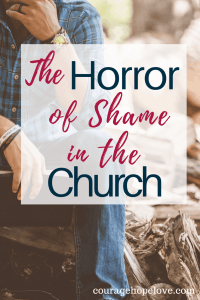 So many Christians carry the burden of a painful past or a consuming addiction or a broken relationship with their Savior. And so many feel the need to keep their struggle hidden. The horror of a shame-ridden Christianity is not what God intended for us.
