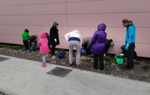 Atelier jardinage préparation du terrain