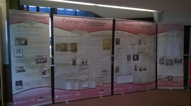 CofC exhibition at Chesterfield Library