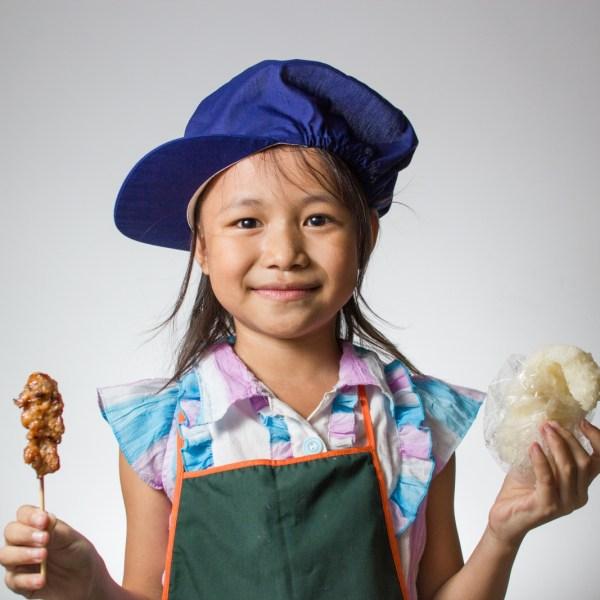Courageous Kitchen nu portrait