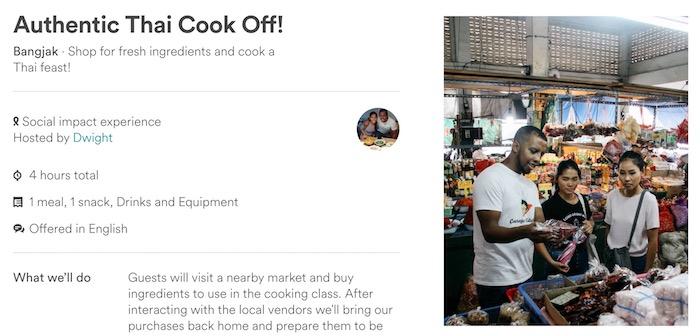 airbnb thai cooking class