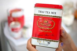 thai tea cannister to make cha yen