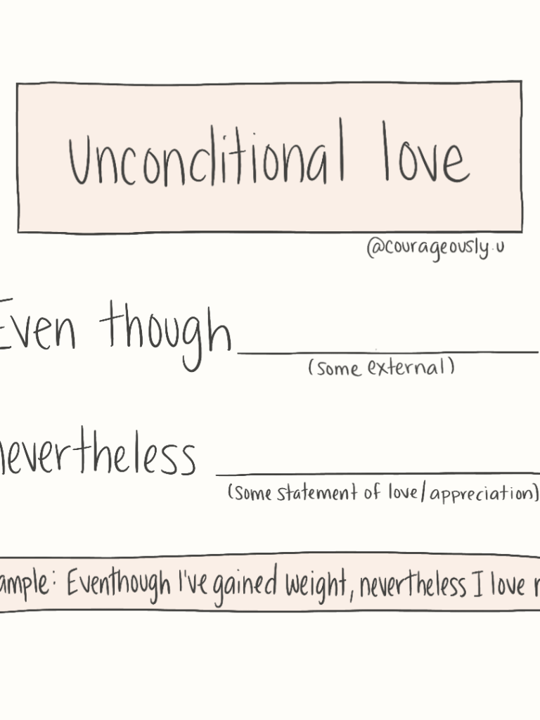 How To Have Unconditional Love For Yourself