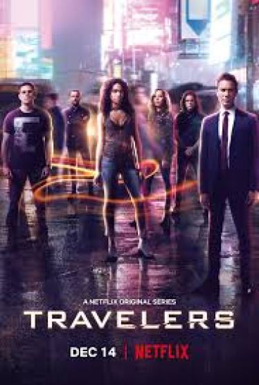 Image result for travelers netflix cast