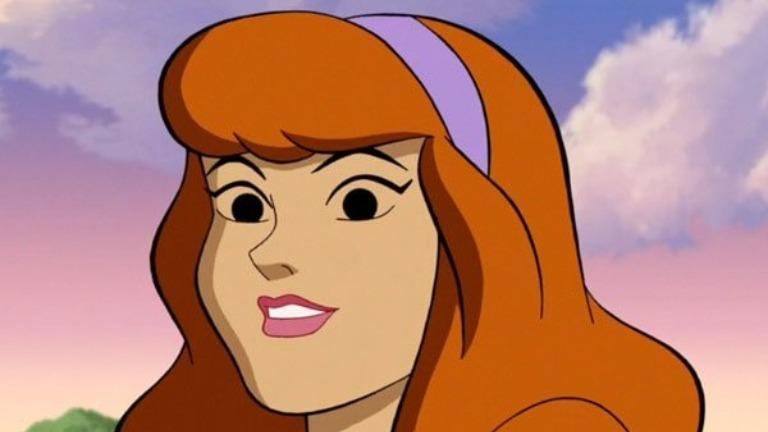 Cartoon characters Daphne