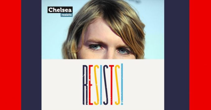 chelsea manning resists