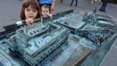 波爾多大劇院的青銅模型 (Bronze of Grand Theatre de Bordeaux)