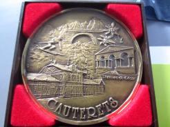 médaille de la ville de CAUTERETS