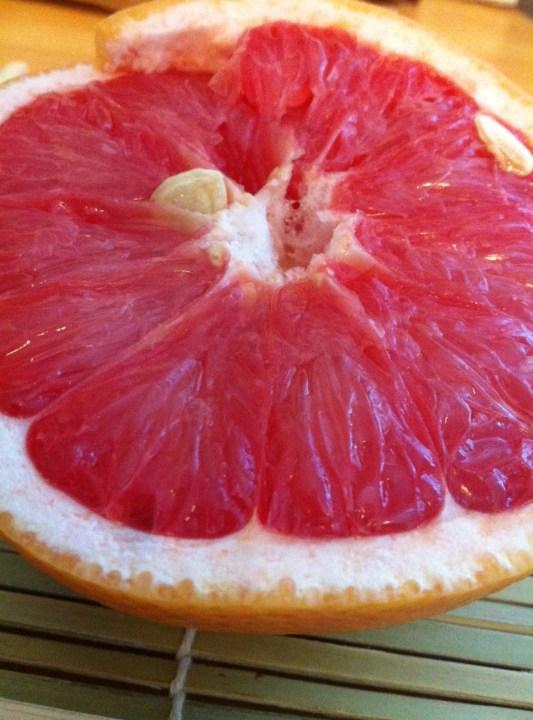 Le pamplemousse ou pomelos
