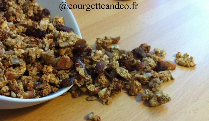 Granola aux fruits séchés