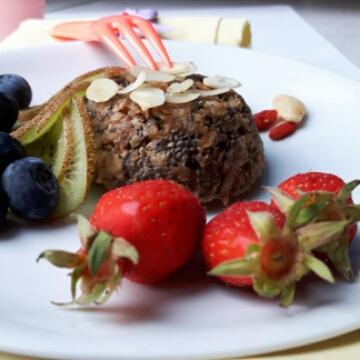 Bowlcake vegan à la noisette