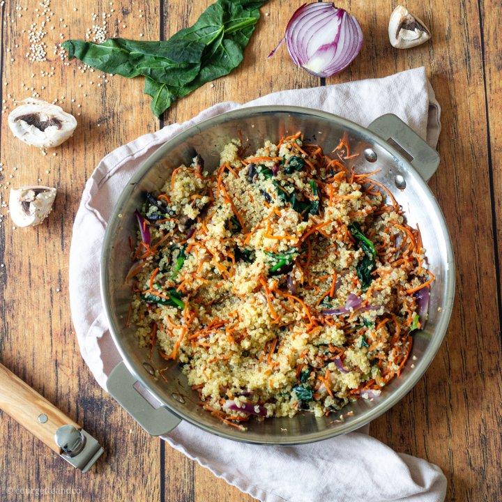Sauté de légumes au quinoa