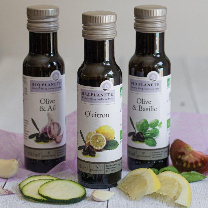Les huiles créatives de chez Bio Planète