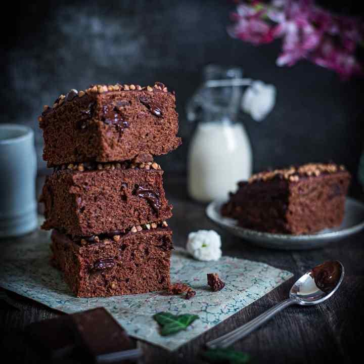 Gâteau moelleux vegan au chocolat