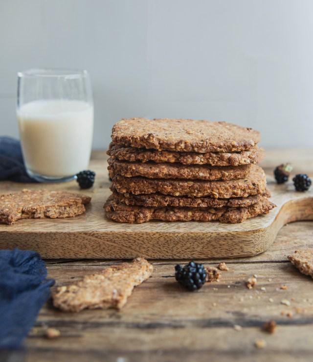 Biscuits granola à la noisette