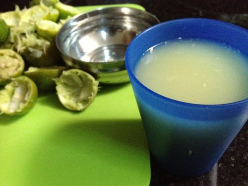 cup of lime juice