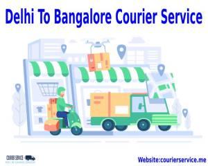 Delhi To Bangalore Courier Service