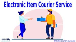 Electronic Item Courier Service
