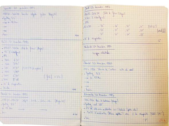 Cahier d'entraînement