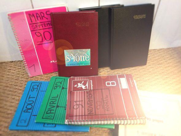 Mes cahiers d'entraînement