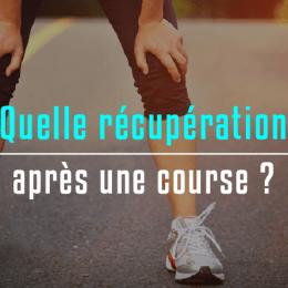 récupérer après une course - conseils running
