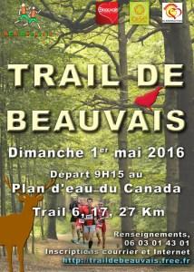Trail de BEAUVAIS - 2016