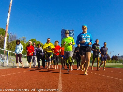 Christian Harberts : IBRD 2016 - International Barefoot Running Day - Paris / Issy-le