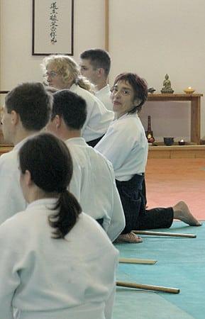 Ghislaine Soulet, une femme passionnante, 4e dan d'Aïkido au sein du Birankaï