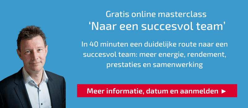 online masterclass succesvol team