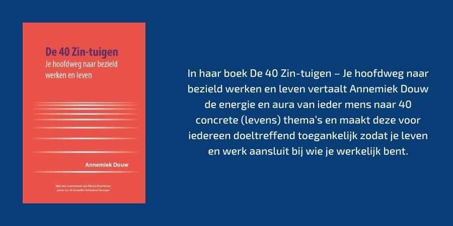 Annemiek Douw De 40 zin-tuigen.