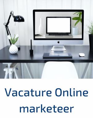vacature online marketeer