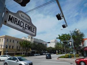 Miracle Mile à Coral Gables, Miami - Floride