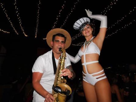 Les gens de Miami Beach